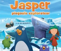Dessin animé Jasper, Pingouin Explorateur DVD