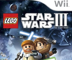 Jeu LEGO Star Wars III : The Clone Wars Wii