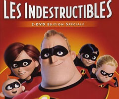 Dessin anim� Les Indestructibles Blu Ray