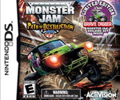 Jeu Monster Jam : Path Of Destruction Nintendo DS
