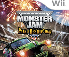 Jeu Monster Jam : Path of Destruction Wii