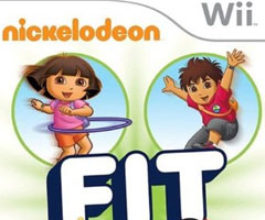 Jeu Nickelodeon Fit Wii