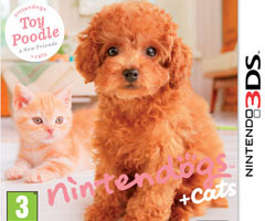 Jeu Nintendogs + Cats : Toy Poodle + New Friends Nintendo 3DS