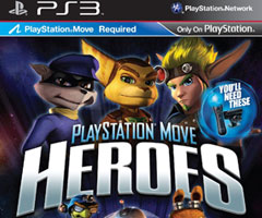 Jeu PlayStation Move Heroes PS3