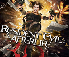 Film Resident Evil : Afterlife 3D Blu Ray