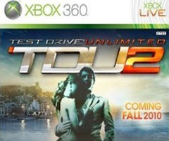 Jeu Test Drive Unlimited 2 Xbox 360