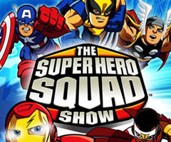 Dessin animé The Super Hero Squad Show - Volume 1 DVD