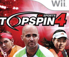 Jeu Top Spin 4 Wii