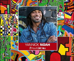 Album Yannick Noah : Fronti�res CD